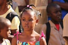 Довольно ямайская девушка стоковое фото rf