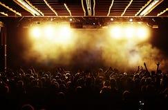 договоритесь толпа Стоковые Фото