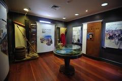Договор музея Waitangi Стоковые Фото
