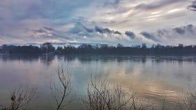 Дождливый день в ¡ c VÃ, Венгрии Стоковое Изображение RF
