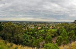 Дождливый день в парке Уилсоне australites стоковые изображения rf