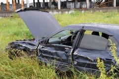 дождь автомобиля разрушил Стоковая Фотография RF