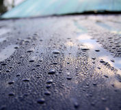 дождь автомобиля Стоковые Изображения