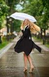дождь вниз Стоковые Изображения RF