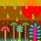 Дождь в джунглях Стоковое фото RF