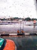 Дождь в Medina стоковое фото