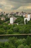 дождь города Стоковые Фотографии RF