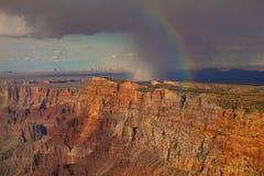 дождь каньона грандиозный стоковые фото