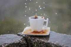 Дождь падает вниз стоковые изображения