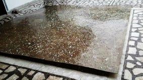 Дождь падая в сезон дождей видеоматериал