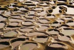 дождь пляжа Стоковые Фото