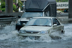 дождь Таиланд муссона bangkok стоковые изображения rf