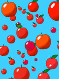 дождь яблока Стоковое Изображение RF