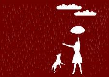 дождь Стоковая Фотография RF