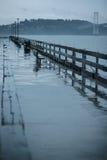 дождь san francisco Стоковое Фото