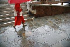 дождь venice Стоковая Фотография RF