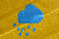 Дождевое облако Стоковое Изображение