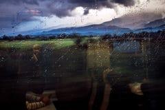 Дождливый день в trasylvania Стоковая Фотография RF