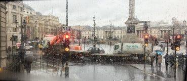 Дождливый день Лондона Стоковые Фотографии RF