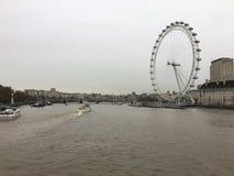 Дождливый день Лондона Стоковые Изображения