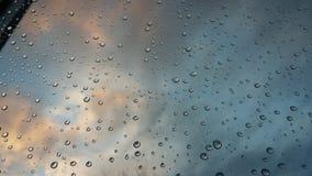 Дождь вечера Стоковые Изображения RF