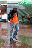 Дождь в Киеве Стоковое фото RF