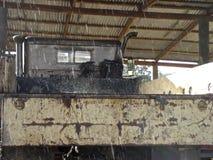 Дождь на кузове Стоковая Фотография