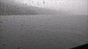 Дождь на окне Стоковые Изображения RF