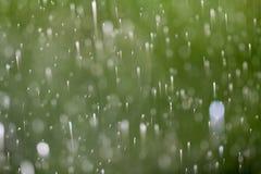Дождь окна Стоковое Изображение RF