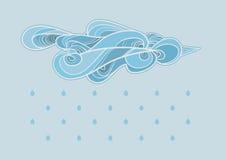 Дождь бесплатная иллюстрация