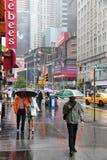 Дождь NYC Стоковые Изображения