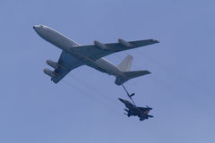 дозаправлять маневра в воздухе Стоковая Фотография RF