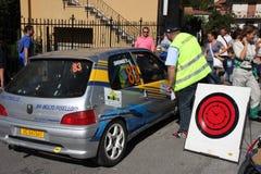 Дозаправляя ралли di Torriglia 2011 Стоковые Фотографии RF