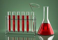 Дозирование химических реагентов снадобья Стоковые Фото