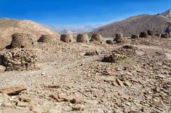 Доисторические усыпальницы башни на Al Ain Стоковые Изображения RF