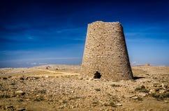 Доисторические усыпальницы башни на Shir/Jaylah Стоковые Фотографии RF