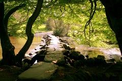 Доисторический каменный мост колотушки стоковое фото rf