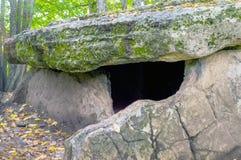 Доисторический дольмен европейца неолитического времени Стоковые Изображения
