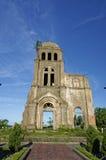 Доказательство войны Steeple церков Toa Tam, Вьетнама - 2014-Sep Стоковое Изображение RF