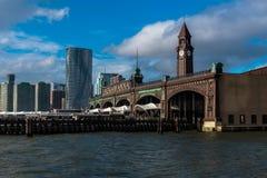 Доки парома Hoboken Стоковые Фотографии RF
