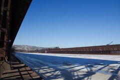 Доки руды Дулута Минесоты Стоковая Фотография