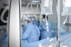 Доктора в лаборатории интервенции Стоковое Изображение RF
