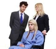 Доктора и пациент Стоковые Изображения