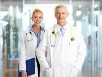 Доктора на больнице Стоковые Изображения
