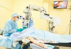 Доктора хирурга в комнате деятельности Стоковое Изображение