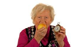 доктор дня яблока отсутствующий держит Стоковые Фотографии RF