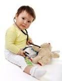 доктор меньшяя игрушка стоковое фото