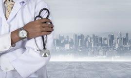 Доктор, пациент, медицинский Стоковые Фотографии RF