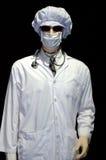 доктор предпосылки черный сверх Стоковые Изображения RF