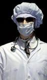 доктор предпосылки черный сверх Стоковое Фото